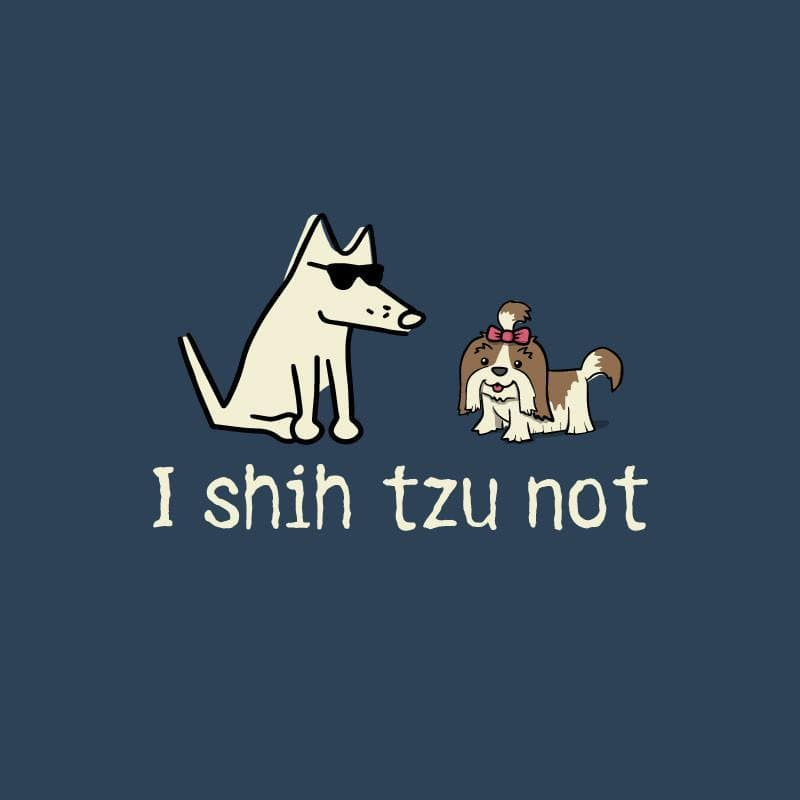 I Shih Tzu Not - Ladies T-Shirt V-Neck