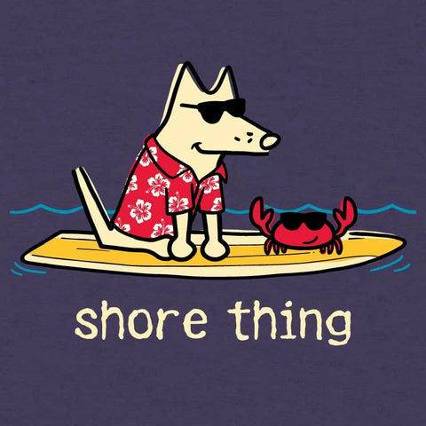 Shore Thing - Ladies Curvy V-Neck Tee