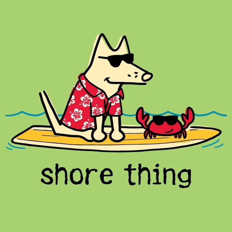 Shore Thing  - Ladies T-Shirt V-Neck