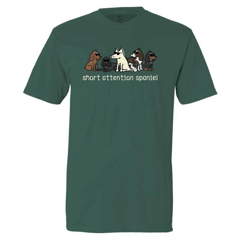 Short Attention Spaniel - Classic Tee