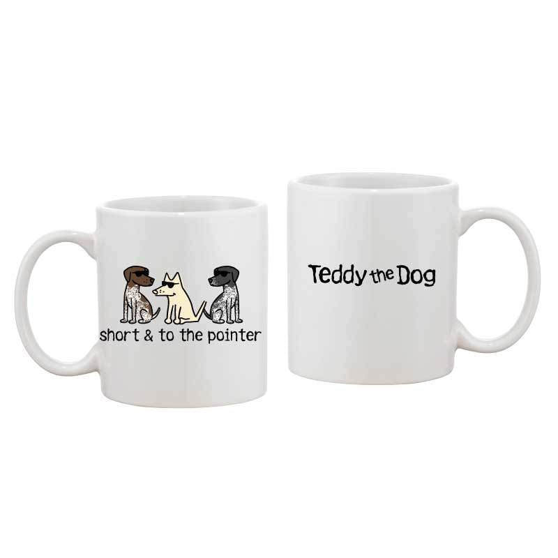 Short and to the Pointer - Coffee Mug
