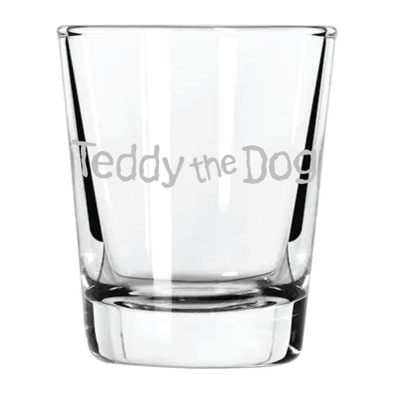 Teddy's Shot Glass