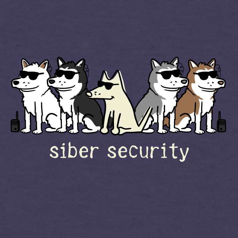 Siber Security  - Ladies Curvy V-Neck Tee