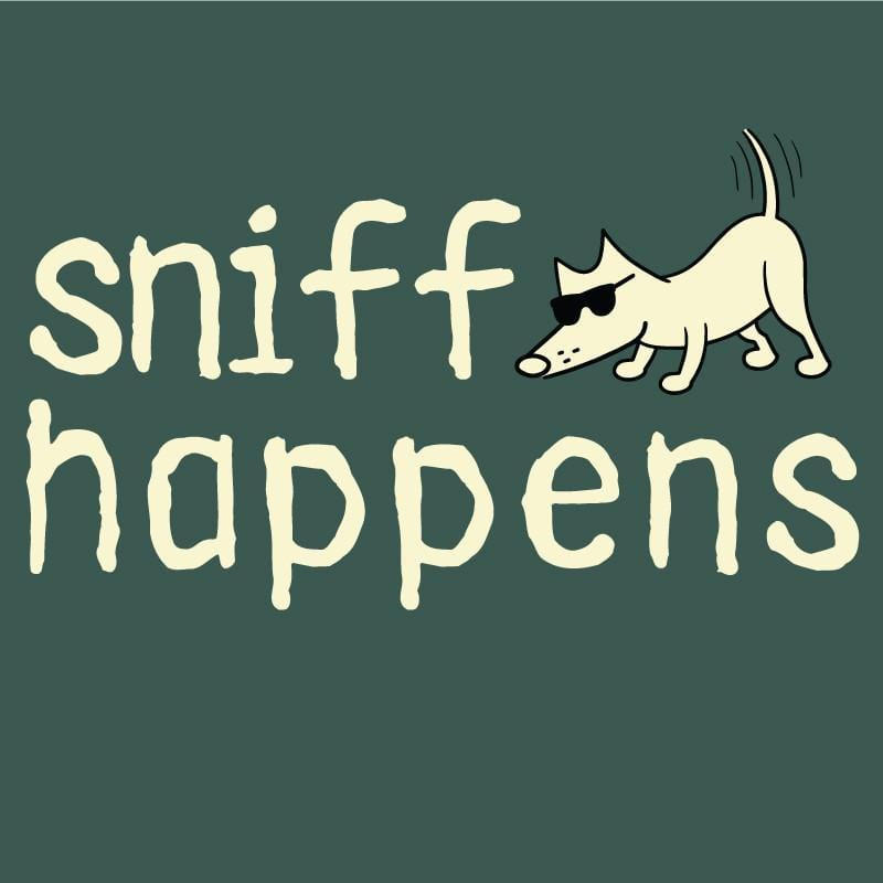 sniff happens garment dyed classic t-shirt