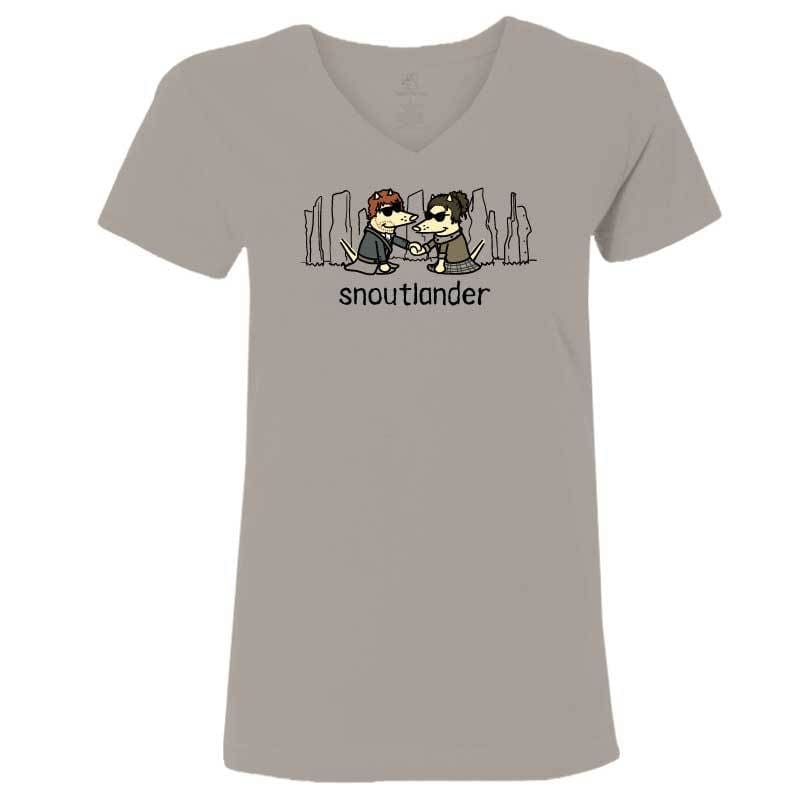 Snoutlander - Ladies T-Shirt V-Neck