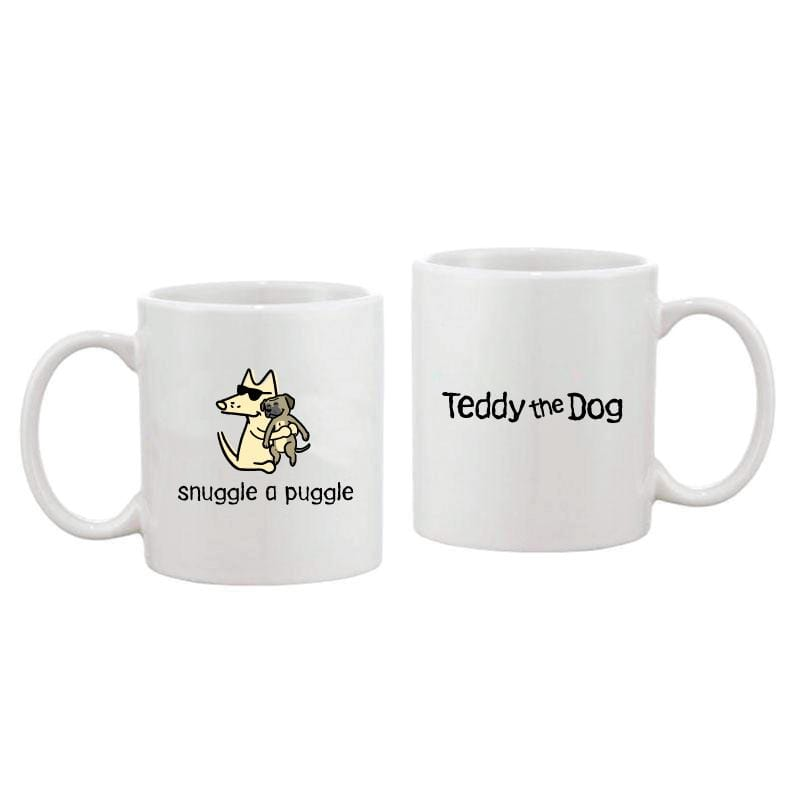 Snuggle A Puggle - Coffee Mug