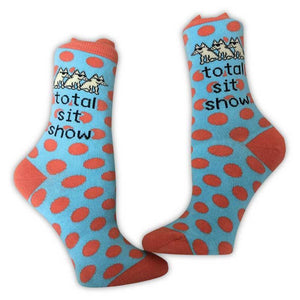 Total Sit Show - Teddy Socks