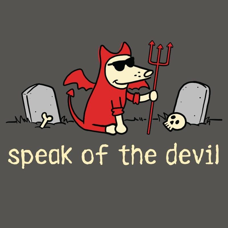 Speak Of The Devil - Ladies T-Shirt V-Neck