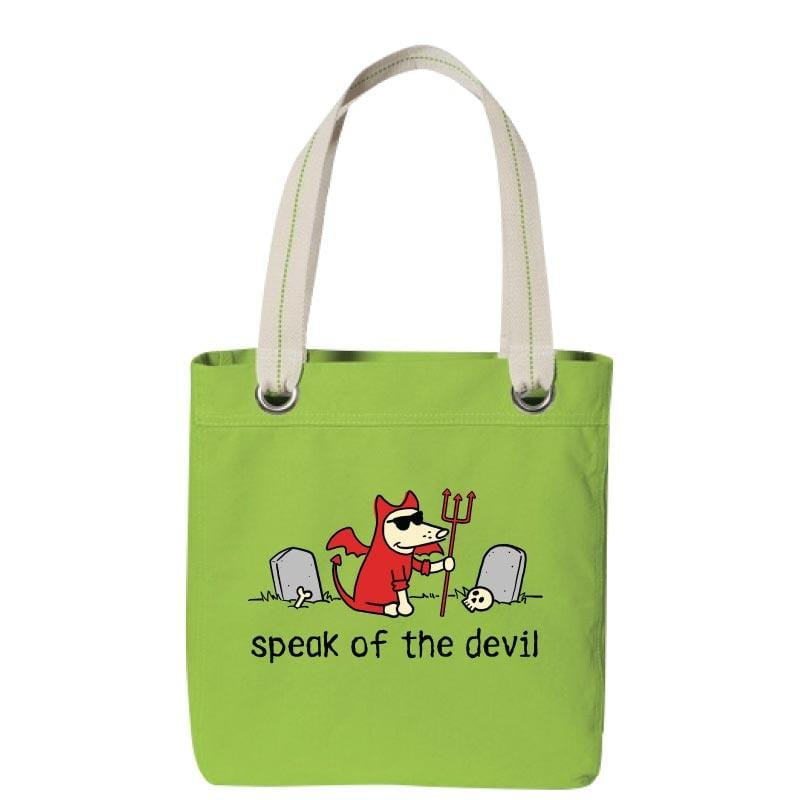 Speak Of The Devil - Canvas Tote