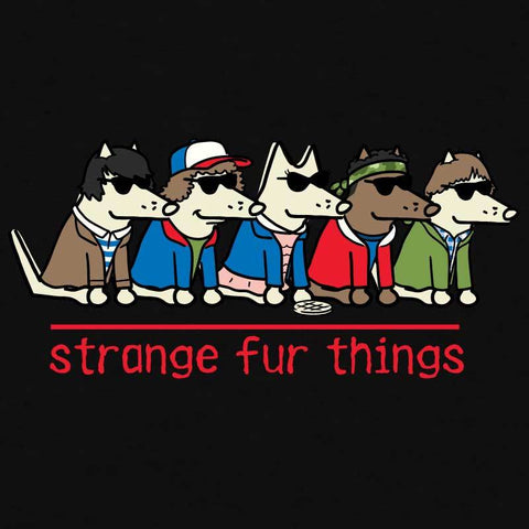 Stranger Fur Things - Lightweight Tee