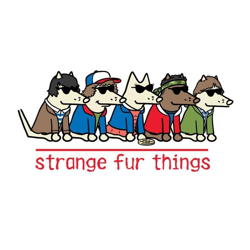 Strange Fur Things - Coffee Mug