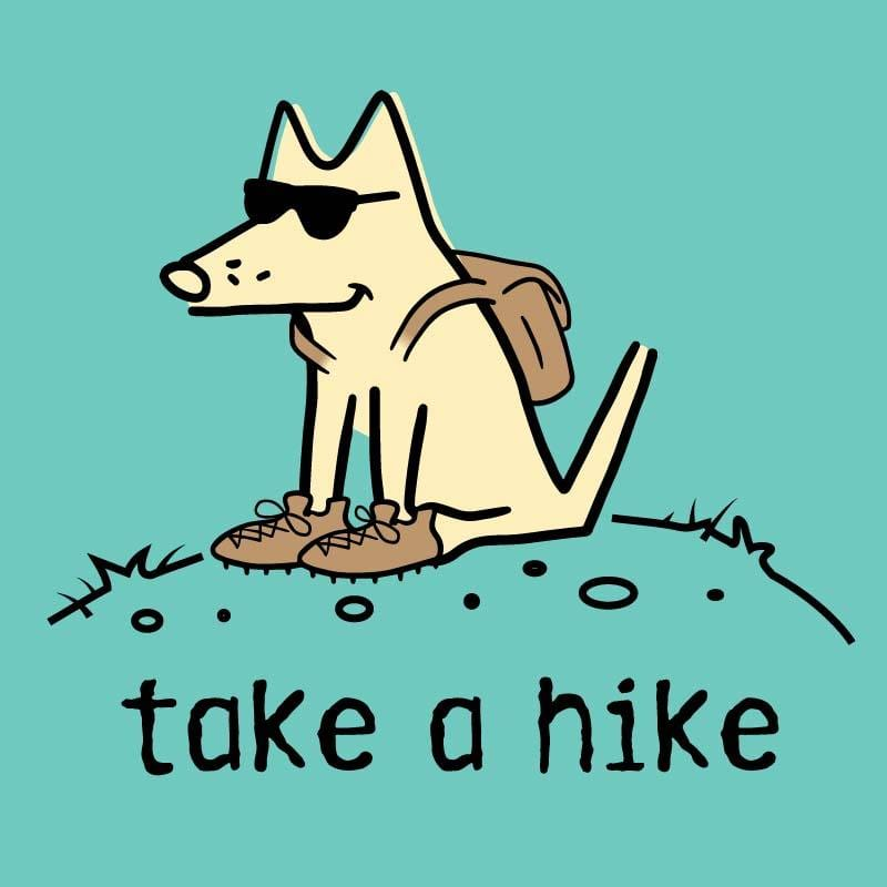 Take a Hike - Ladies T-Shirt V-Neck