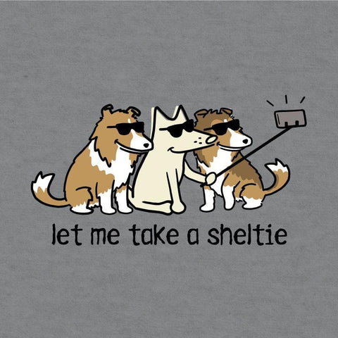 Let Me Take A Sheltie - Long-Sleeve Hoodie T-Shirt