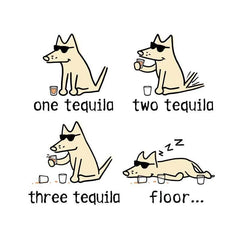 One Tequila, Two Tequila, Three Tequila, Floor - Coffee Mug