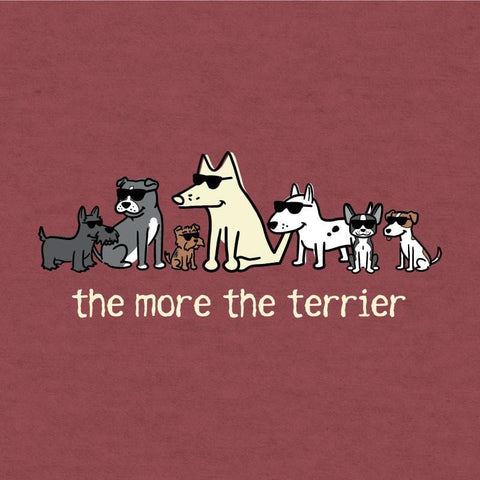 The More the Terrier Lightweight T-Shirt