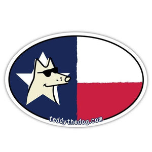 Texas - Car Magnet