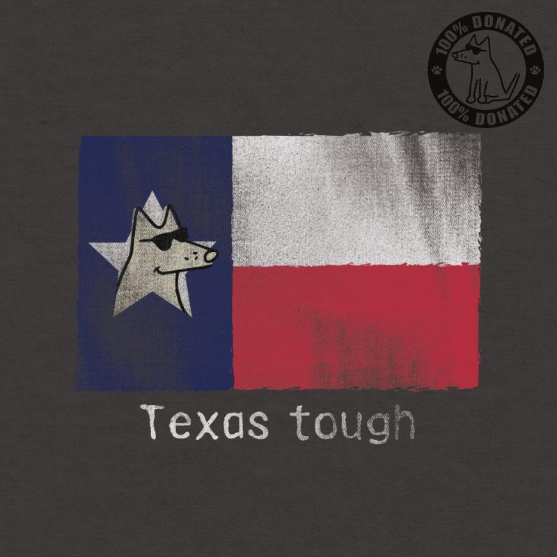 Texas Tough - Ladies Curvy V-Neck Tee