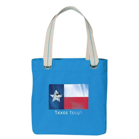 Texas Tough - Canvas Tote