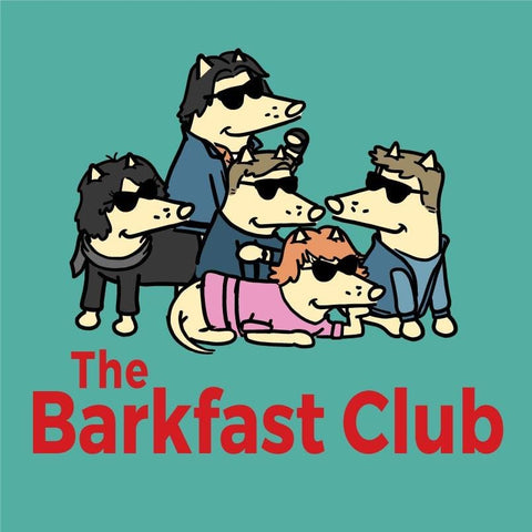 The Barkfast Club - Ladies T-Shirt V-Neck