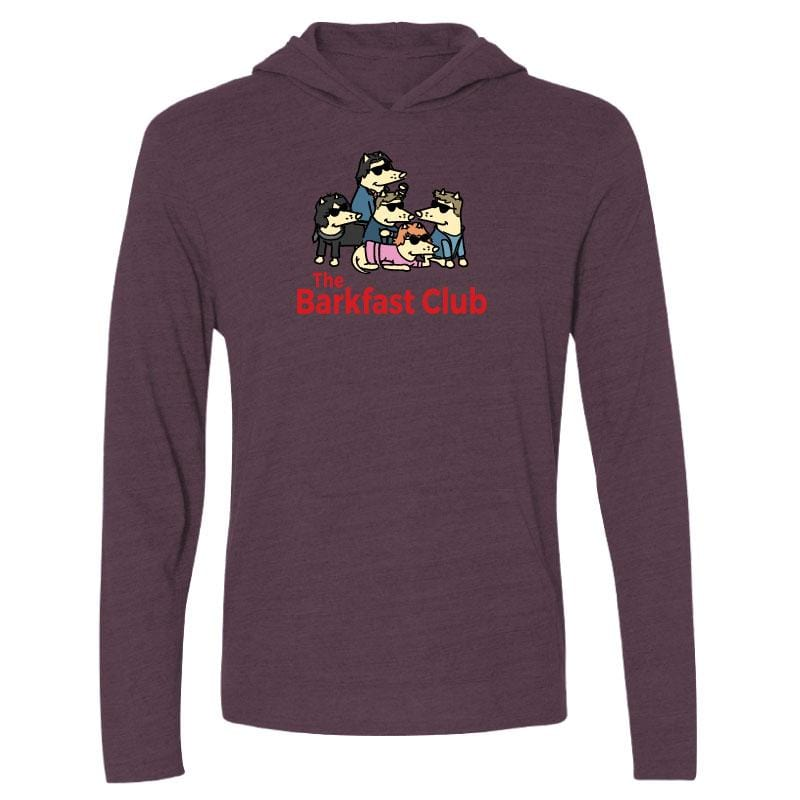The Barkfast Club - Long-Sleeve Hoodie T-Shirt
