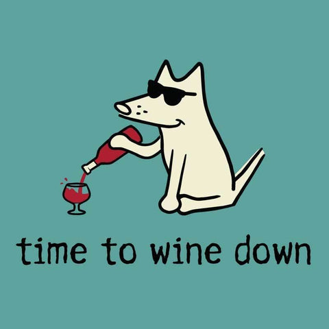 Time To Wine Down - Classic Tee