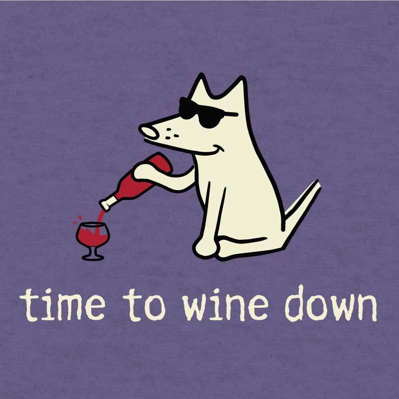 Time To Wine Down - Lightweight Tee
