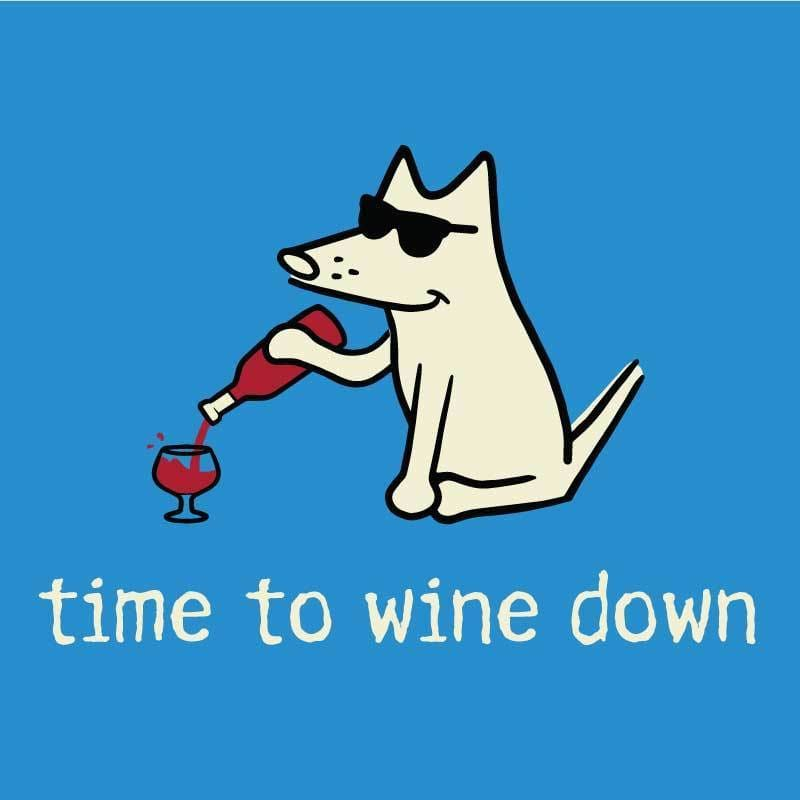 Time To Wine Down - Canvas Tote