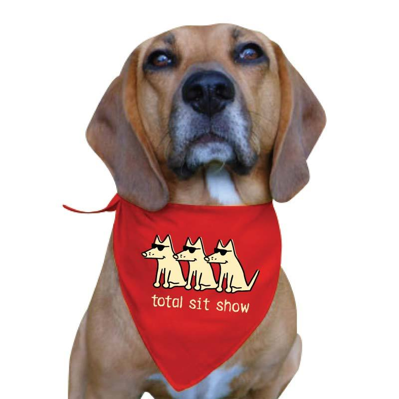 Total Sit Show - Doggie Bandana