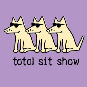 Total Sit Show-  Ladies V-Neck T-shirt