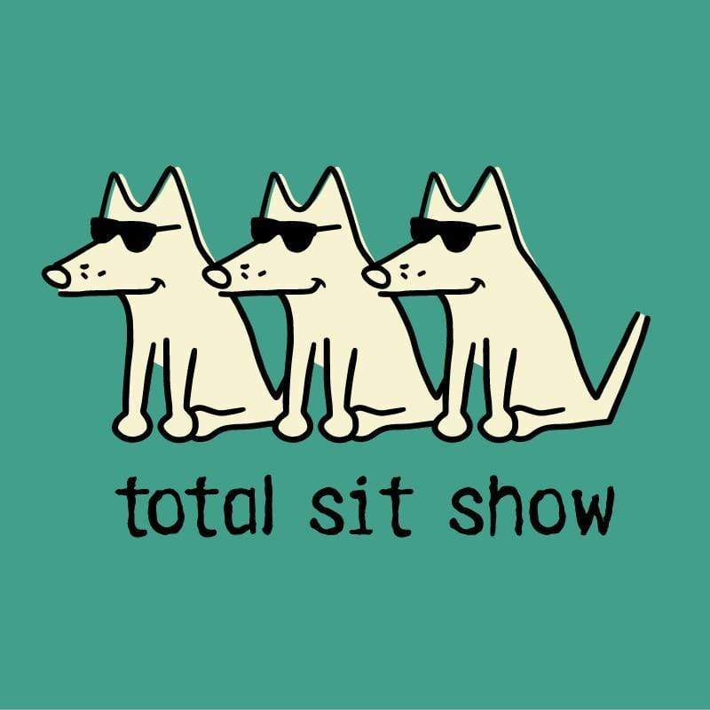 19434dc1 Total Sit Show | Long Sleeve T-Shirts for Dog Lovers | Teddy the Dog