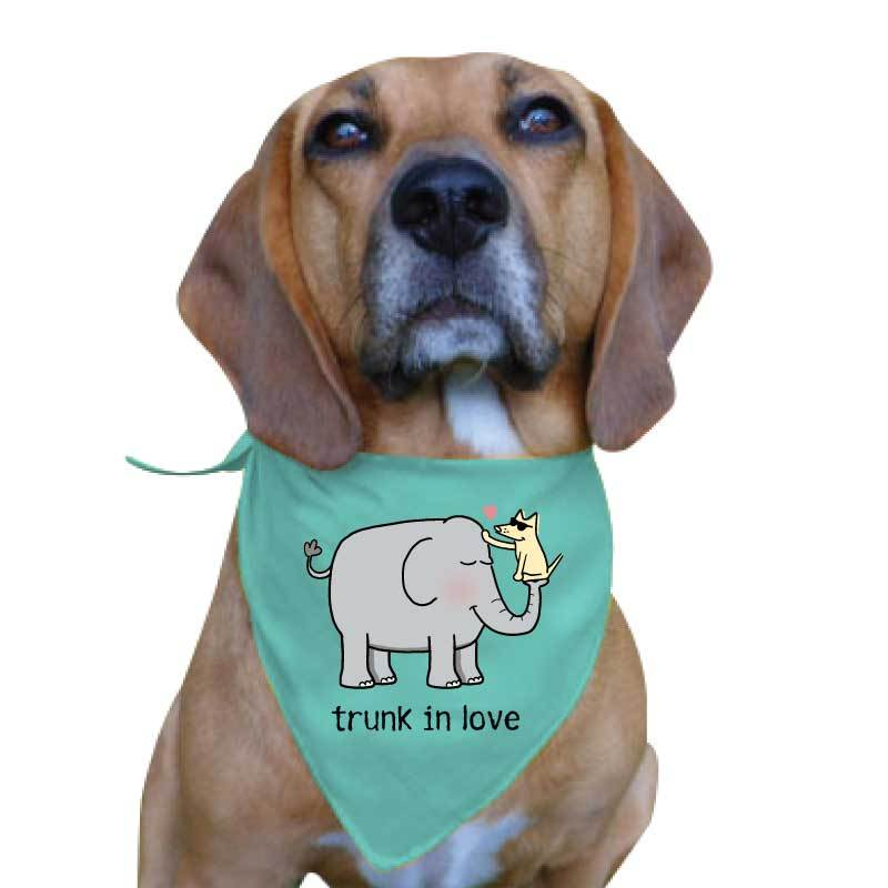 Trunk In Love - Doggie Bandana