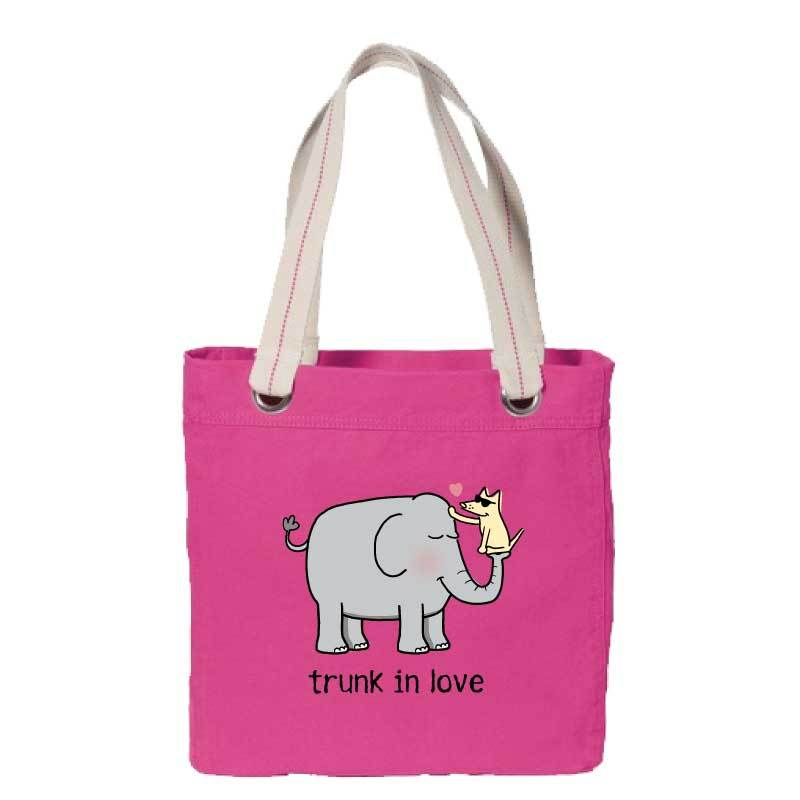 Trunk In Love - Canvas Tote