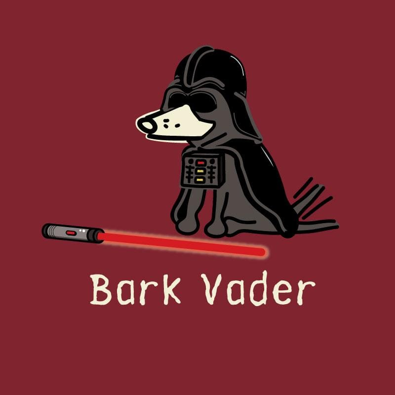 Bark Vader - Ladies T-Shirt V-Neck