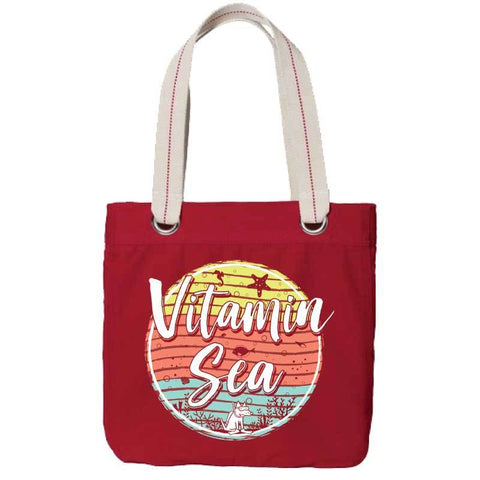 Vitamin Sea - Canvas Tote