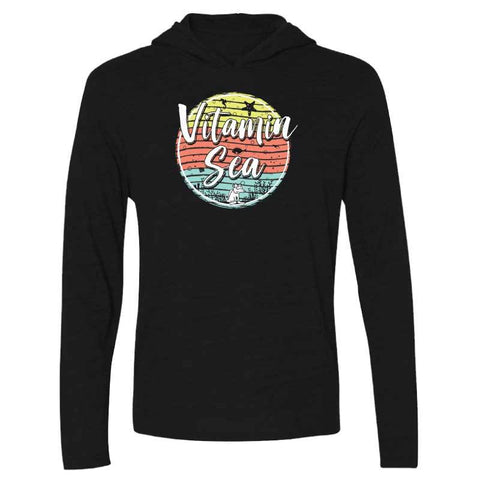 Vitamin Sea - Long-Sleeve Hoodie T-Shirt