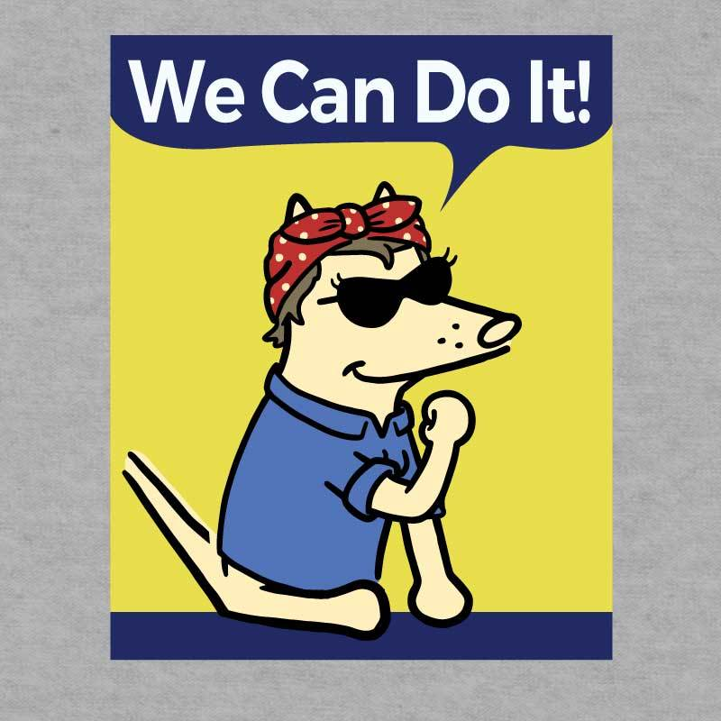We Can Do It - Ladies T-Shirt V-Neck
