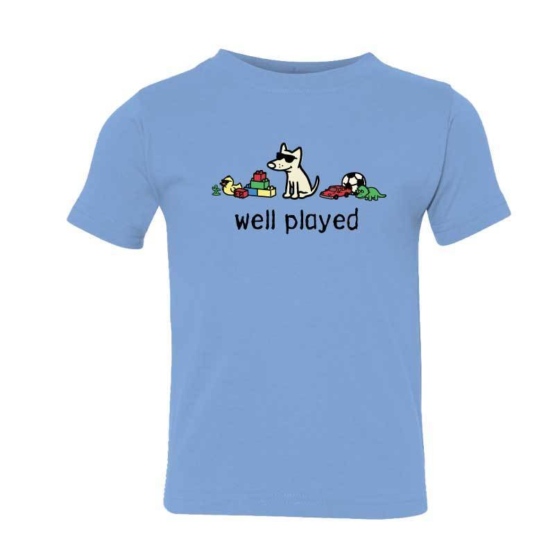 Well Played -  Toddler Short Sleeve T-Shirt