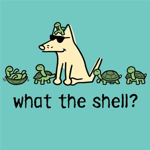 What The Shell?  - Ladies T-Shirt V-Neck