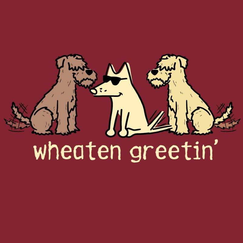 Wheaten Greetin' - Ladies T-Shirt V-Neck