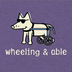 Wheeling & Able - Lightweight Tee