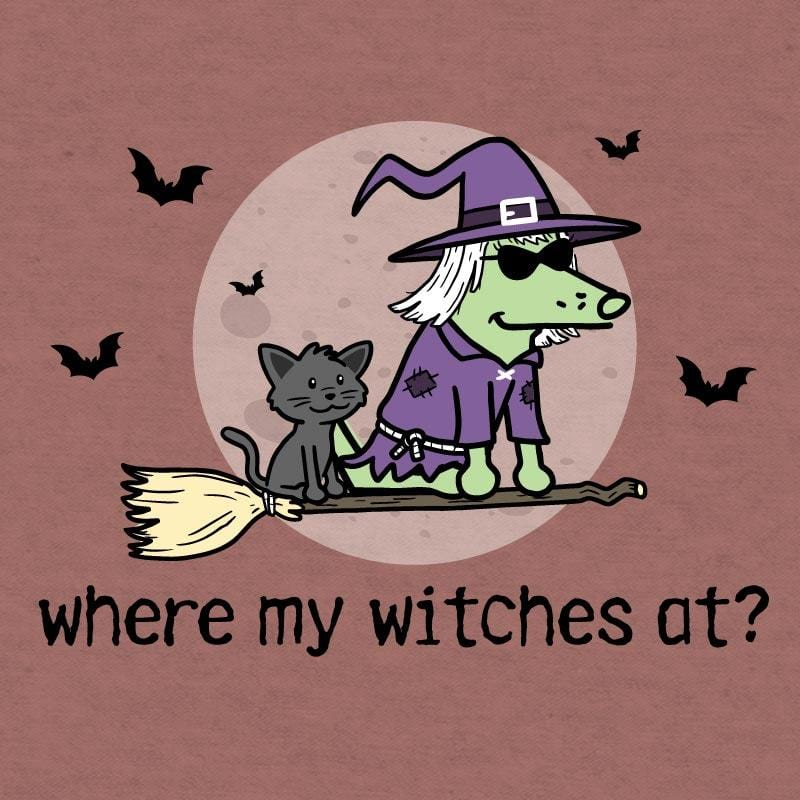 Where My Witches At?  - Lightweight Tee
