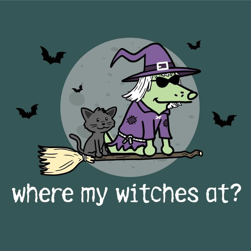 Where My Witches At?  - Classic Long-Sleeve T-Shirt