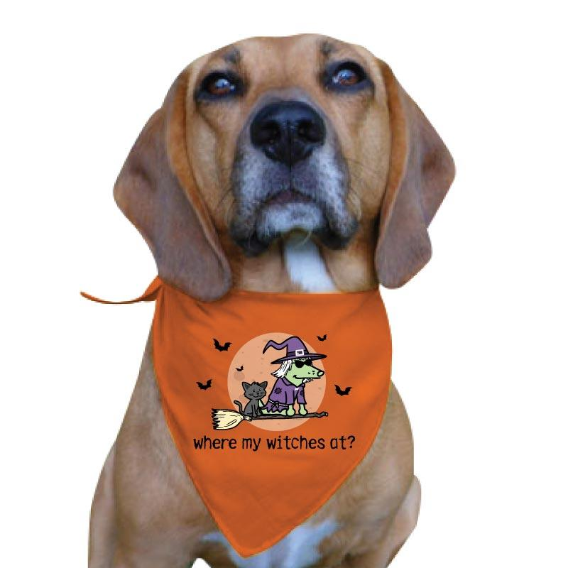 Where My Witches At? - Doggie Bandana