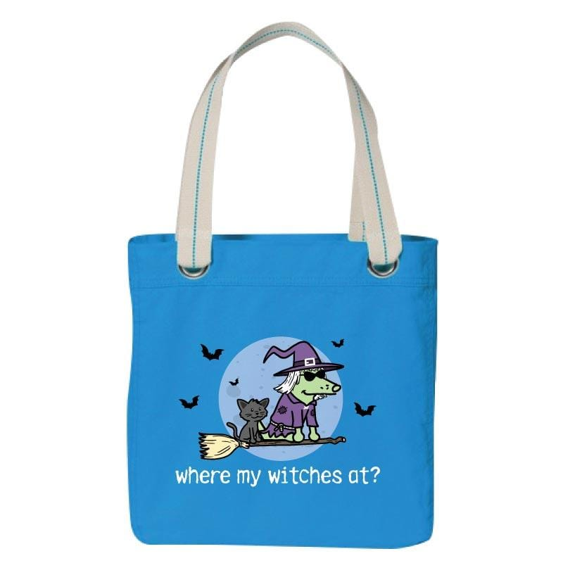 Where My Witches At? - Canvas Tote