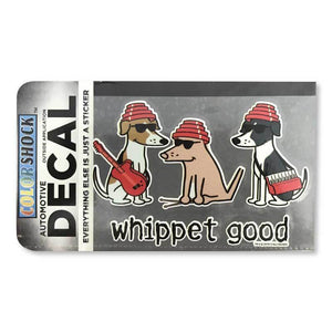 Whippet Good - Decal