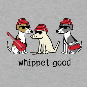 Whippet Good - Ladies T-Shirt V-Neck