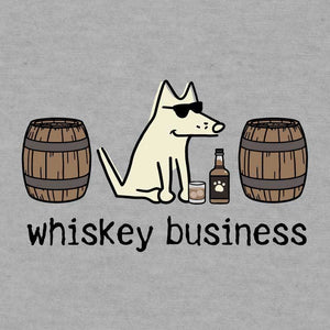 Whiskey Business - Ladies T-Shirt V-Neck