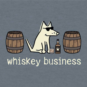 Whiskey Business- Lightweight Tee