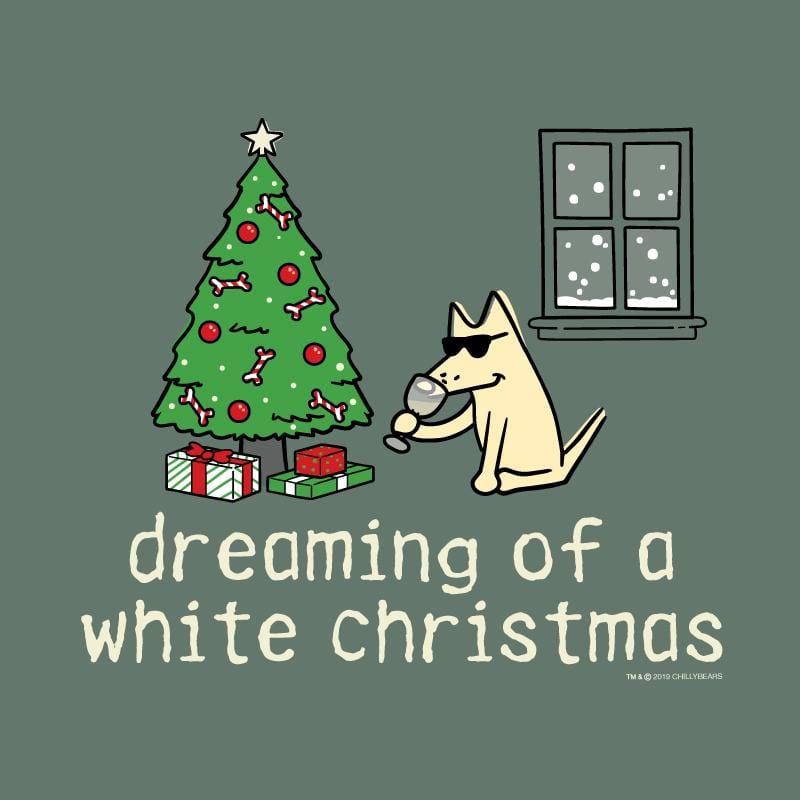 Dreaming Of A White Christmas - Sweatshirt Pullover Hoodie