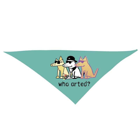 Who Arted? - Doggie Bandana